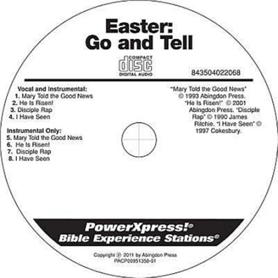 PowerXpress Easter Go & Tell Music CD  -