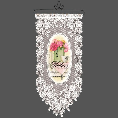Mothers Serve Love, Lace Wall Hanging  -     By: Sandy Clough