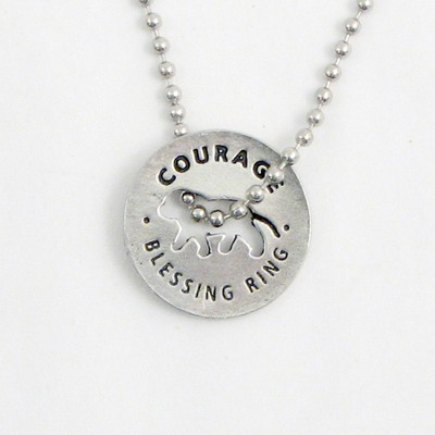 Courage Necklace  -