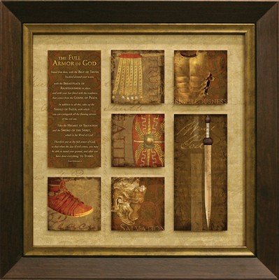 The Full Armor of God Framed Print  -