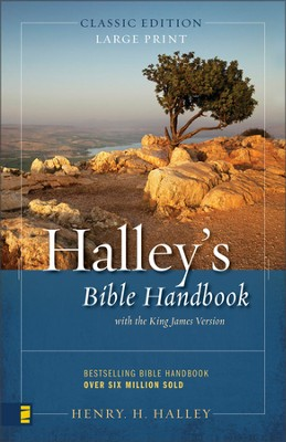 Halley's Bible Handbook, Large Print  - Slightly Imperfect  -