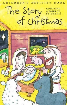 The Story of Christmas Children's Activity Book  -
