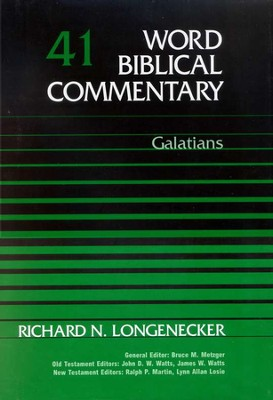 Galatians: Word Biblical Commentary [WBC]   -     By: Richard N. Longenecker