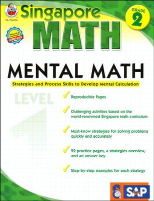 Singapore Mental Math Level 1 Grade 2  -