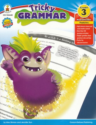 Tricky Grammar Grade 3  -     By: Alex Shirran