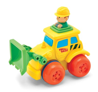 Push 'n Zoom Vehicle, Front Loader  -