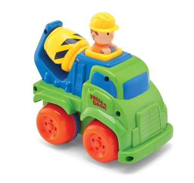 Push 'n Zoom Vehicle, Cement Mixer  -