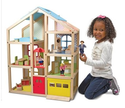 Hi-Rise Dollhouse and Furniture  -