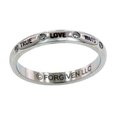 True Love Waits Ring, Size 10  -