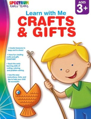 Spectrum Early Years Learn with Me Crafts & Gifts  -
