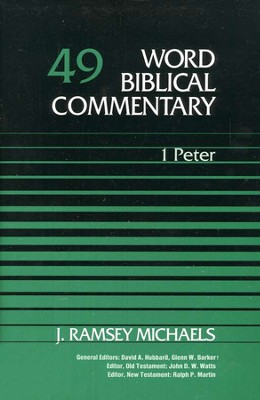1 Peter: Word Biblical Commentary [WBC]   -     By: J. Ramsey Michaels