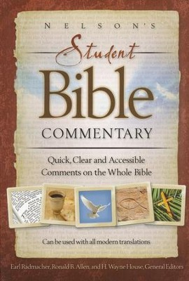 Nelson's Student Bible Commentary: A Complete Guide to Studying the Meaning of the Bible - Slightly Imperfect  -