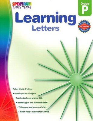 Spectrum Early Years Learning Letters  -