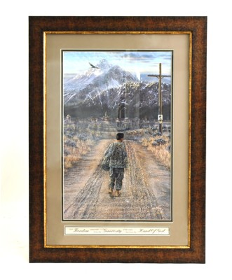 The Homecoming Framed Print   -     By: Rick Kelley