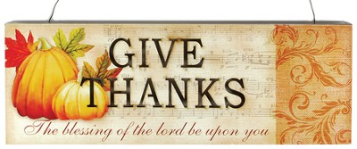 Give Thanks Sign  -