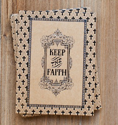 Keep the Faith Notes, Pack of 10  -