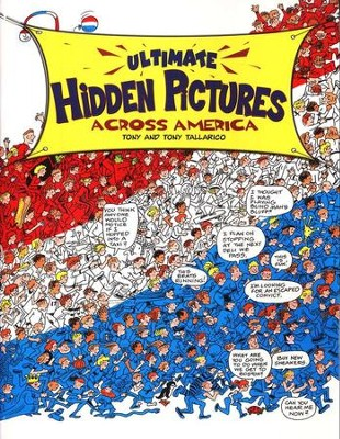 Ultimate Hidden Pictures    -     By: Tony Tallarico