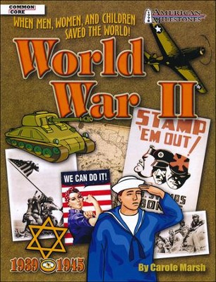 World War II Reproducible Activity Book  -     Edited By: Sherry Moss     By: Carole Marsh