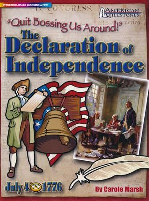 Declaration of Independence Repro Activity Book  -     Edited By: Sherry Moss     By: Carole Marsh