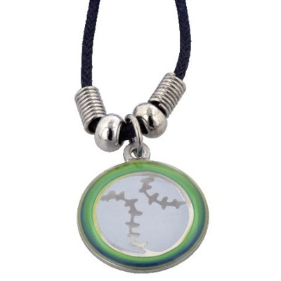 Mood Changer Baseball Pendant  -