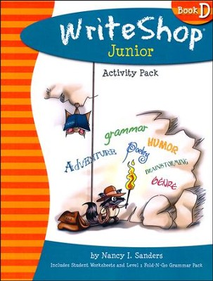 Write Shop Junior Activity Pack w/Fold-N-Go Grammar, Book D  -