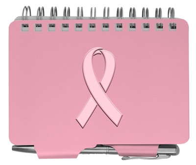 Password Book Pink Ribbon  -