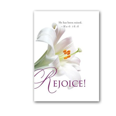 Rejoice! Easter Lilies Bulletin 2013, Regular (Package of 50)  -