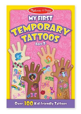 My First Temporary Tattoos - Pink  -