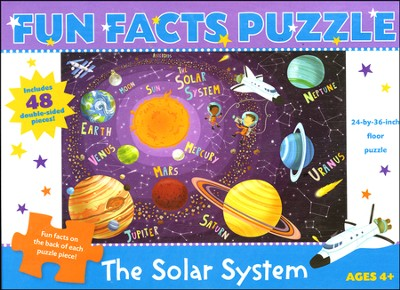 The Solar System Fun Facts Puzzle  -