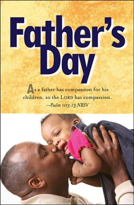 Father and Child Father's Day Bulletin 2013, Regular (Package of 50)  -