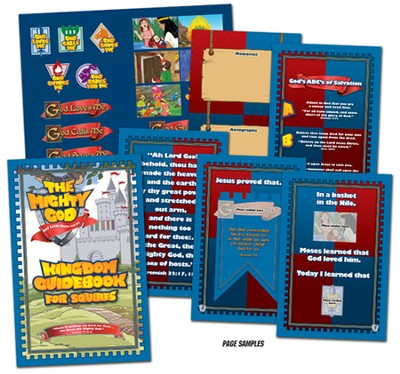 Kingdom Guidebook with Stickers  -