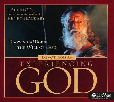 Experiencing God: Audio Devotional (CD set)  -     By: Henry T. Blackaby