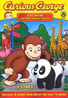 Curious George: Zoo Night and Other Animal Stories! DVD   -