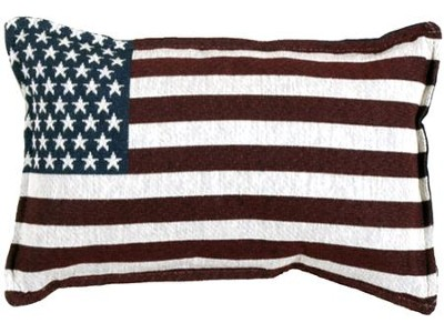 United States Flag Pillow  -