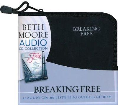 Breaking Free: The Journey, The Stories (CD set)  -     By: Beth Moore