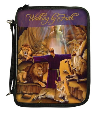 Walking By Faith, Daniel, Bible Organizer Cover  -