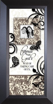 FRIENDS ARE - Sharing Life 8x16 - FRAMED ART  -