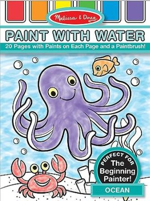 Ocean, Paint with Water  -