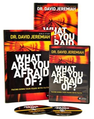 What Are You Afraid Of?: Facing Down Your Fears With Faith  (DVD Leader Kit)      -     By: David Jeremiah