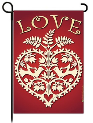 Hearts of Love Flag, Small  -