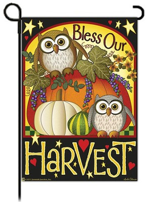 Bless Our Harvest Flag, Small  -