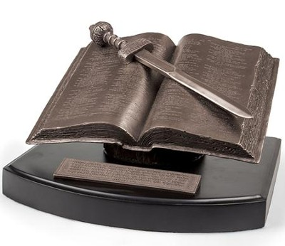 Palabra de Dios, Escultura de Libro  (Word of God, Book Sculpture)  -