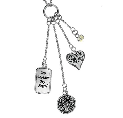 My Mother My Angel Necklace  -