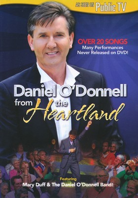 Daniel O'Donnell from the Heartland, DVD   -