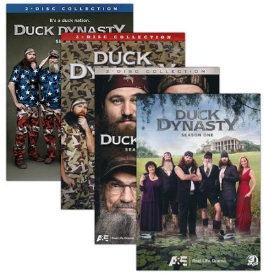 Duck Dynasty: Seasons 1-4, DVD Set   -
