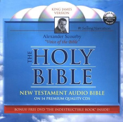 KJV New Testament Bible in Zipper Case  -     Narrated By: Alexander Scourby     By: Alexander Scourby(Narrator)