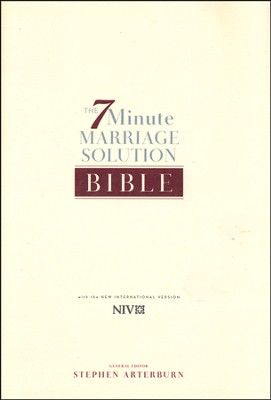 NIV 7-Minute Marriage Devotional Book   -     By: Stephen Arterburn