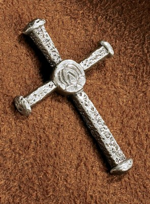 Nail it to the Cross Lapel Pin  -