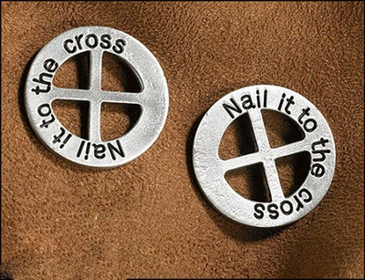 Nail it to the Cross Pocket Token  -
