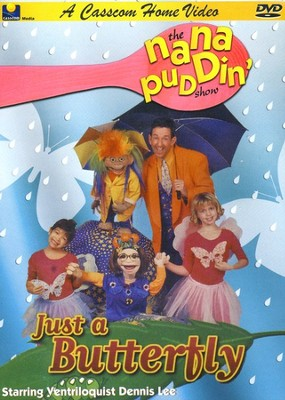 Just a Butterfly, Nana Puddin' Series--DVD  -